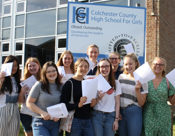 A Level Examination Results – Summer 2019